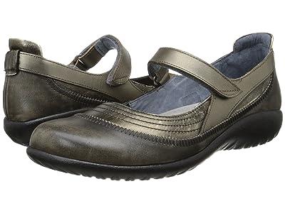 Naot Kirei (Metal Leather/Vintage Gray Leather/Pewter Leather) Women