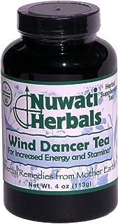 Nuwati Herbals Wind Dancer Tea – For Increased Energy and Stamina – Herbal Loose Leaf, 4 Ounces