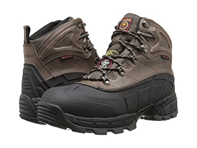 SKECHERS Work Radford (Black/Brown) Men