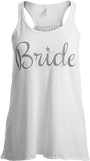 Bride | Flowy, Silky, Fashionable Racerback Women's Bridal Tank Top