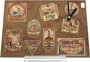 orologio dello scrittorio Vacanza Agenzia Viaggi Felice Natale Mary Joseph