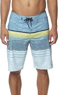 O'NEILL Men's Water Resistant Hyperfreak Stretch Swim Boardshorts, 21 Inch Outseam