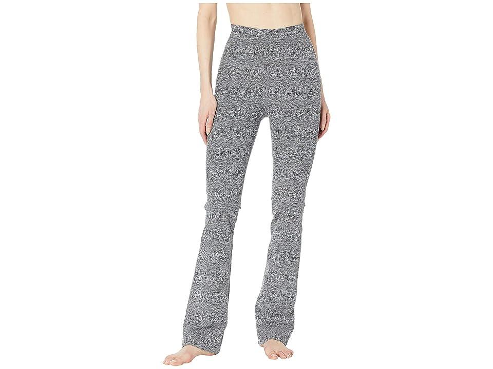 Beyond Yoga High-Waisted Practice Pants (Black/White Spacedye) Women