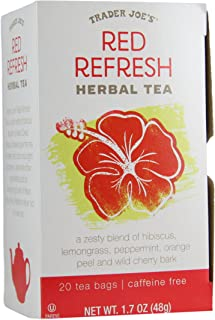 Best red refresh tea trader joes Reviews