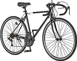 Grandir(グランディール) Grandir Sensitive ロードバイク 自転車 700C 21段変速 2WAYブレーキ ブラック シルバー ホワイト オレンジ フレームサイズ:520/470mm