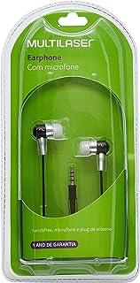 Fone De Ouvido Multilaser Auricular Preto Com Microfone P2 - PH059