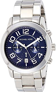Michael Kors Mens Quartz Watch, Chronograph Display and Stainless Steel Strap MK8329