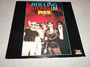 laserdisc Rolling Stones Live at The Max