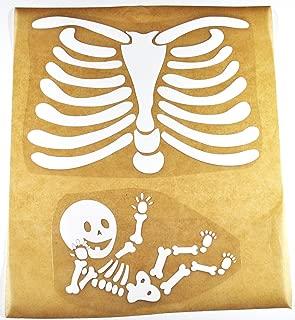 Pregnant Skeleton DIY Iron-on
