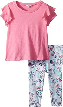Floral Leggings Set (Little Kids)