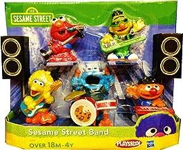 Playskool Exclusive Playset Sesame Street Band Ernie, Bert, Elmo, Big Bird Cookie Monster