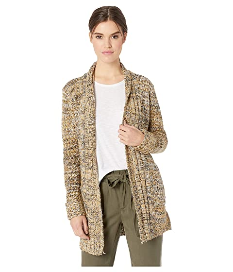 ROMEO & JULIET COUTURE Knitted Long Cardigan, Camel Combo