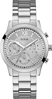 Guess Women's Silver Dial Stainless Steel Band Watch - W1070L1