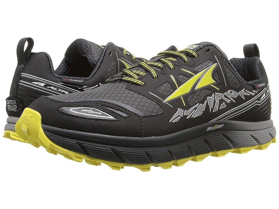 Altra Footwear Lone Peak 3 Neoshell (Black/Yellow) Men