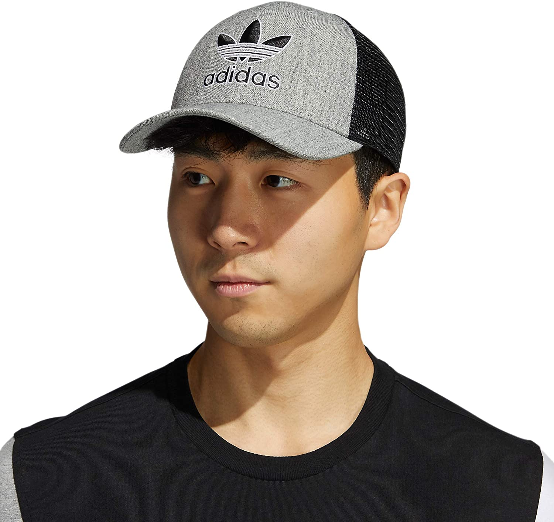 adidas Originals Men's Icon Trucker Structured Precurve Snapback Cap