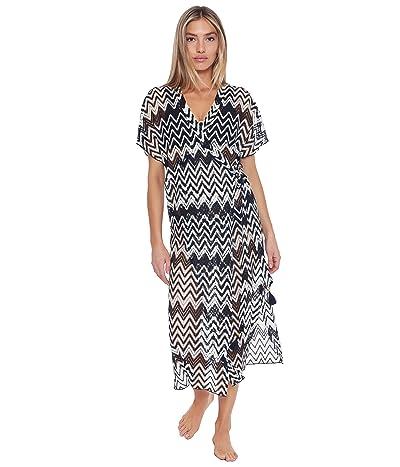 Trina Turk Drift Midi Wrap Dress