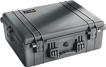 Pelican 1600 Case With Foam (Black) (Renewed)