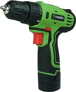 comprar comparacion Casals VDLI12 - Taladro atornillador con batería de litio de 12 V (1,3 A-h, 750 rpm, 17 N-m) color verde y negro