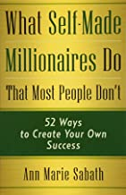 Best what self-made millionaires do Reviews