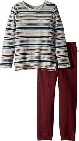 Yarn-Dyed Sweatshirt Set (Little Kids/Big Kids)