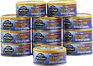 Wild Planet Wild Albacore Tuna, No Salt Added, Keto and Paleo, 3rd Party Mercury Tested,..