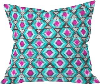 "Deny Designs Holli Zollinger Shakami Denim Outdoor Throw Pillow, 16"" x 16"""