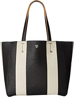 MCM Ilse Canvas Medium Shopper