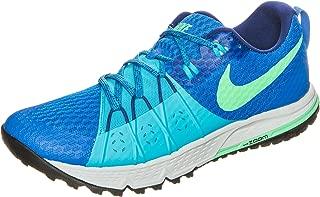 Men's Air Zoom Wildhorse 4 Soar/Electro Green/Chlorine Blue Trail Running Shoes