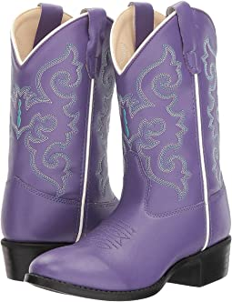 Old West Kids Boots Pearlized Purple (Toddler/Little Kid)