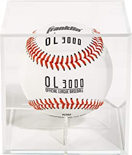 Franklin Sports Official Baseball Display Case - Plexiglass - Autograph Display - Fits Official Size Ball