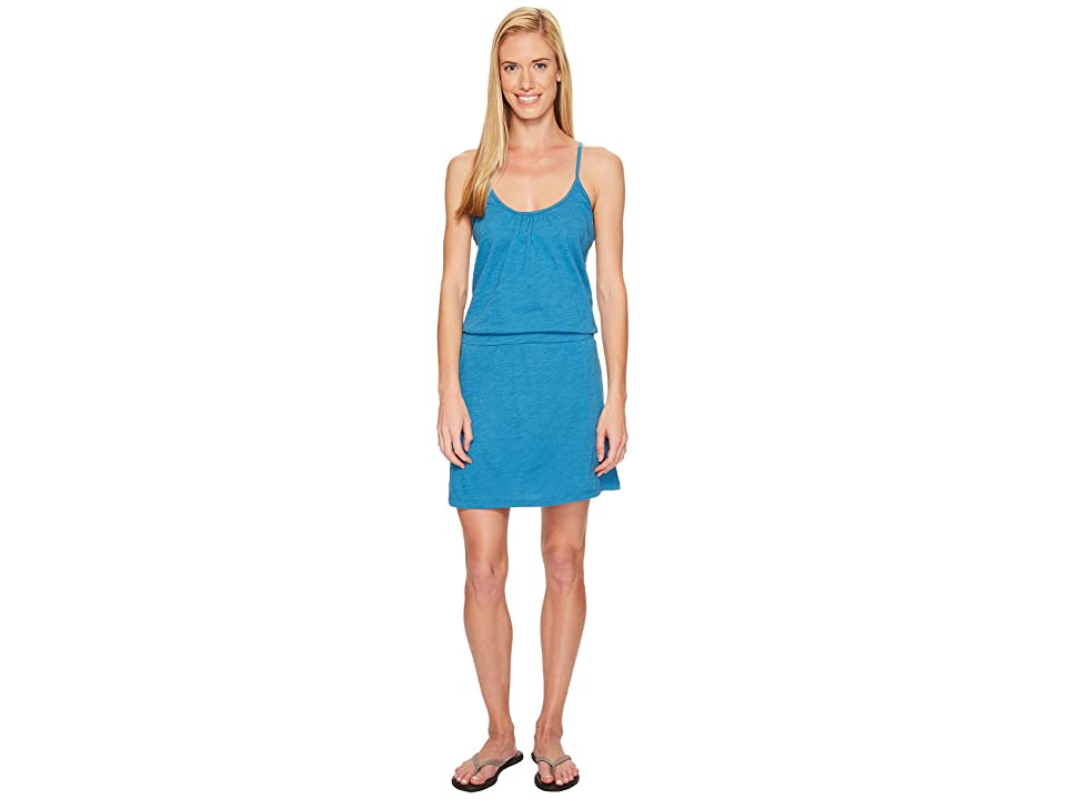 Carve Designs Hadley Dress (Ocean) Women's Dress, Blue