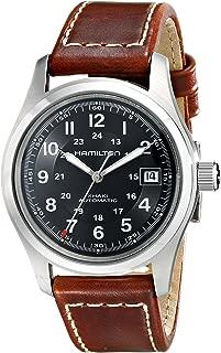 Men's HML-H70455533 Khaki Field Black Dial Watch