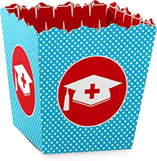Nurse Graduation - Party Mini Favor Boxes - Medical Nursing Graduation Party Treat Candy Boxes - Set of 12