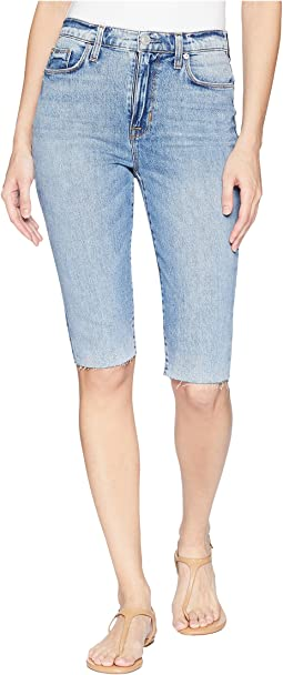 Hudson Zoeey High-Rise Cut Off Boyfriend Shorts in Just for Kicks