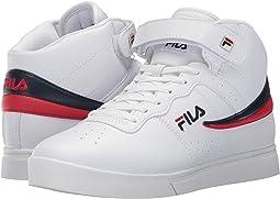 White/Fila Navy/Fila Red