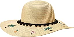 Betsey Johnson - Flamingo Floppy Hat