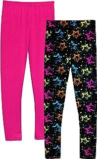Girl Leggings High Rise with Star Pattern