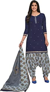 PRANJUL Elegent Women's Cotton Unstitched Suit/Formal Daily Office Wear