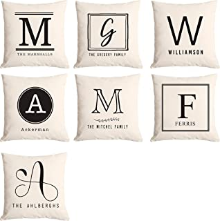 Best personalized monogram pillows Reviews
