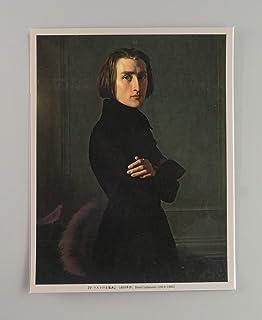 BiblioArt Series リストの肖像画ーA5版サイズ額絵