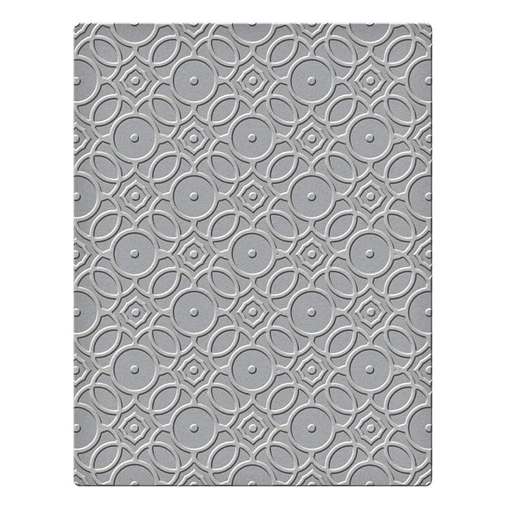 Spellbinders SES-001 Overlapping Circles Embossing Folder