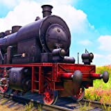 Steam Train Driving Simulator Game
