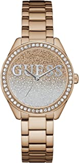 Glitter Girl Rose Gold Dial Stainless Steel Ladies Watch...