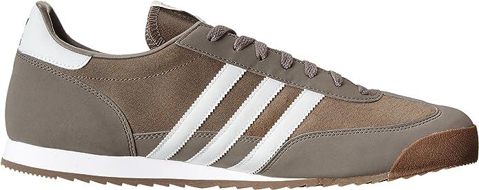 Amazon.com | adidas Mens Dragon Grey White G63395 14 | Shoes