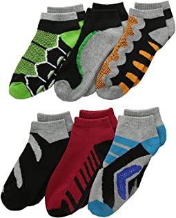 Tech Sport Low Cut 6-Pack (Toddler/Little Kid/Big Kid)