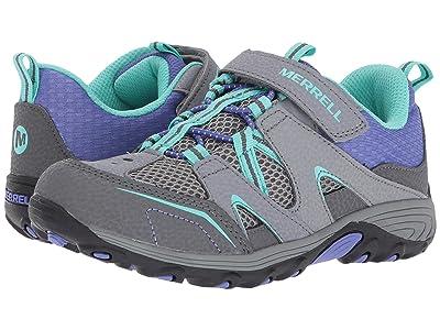 Merrell Kids Trail Chaser (Little Kid) (Grey/Multi) Girls Shoes