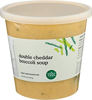 Whole Foods Market, Broccoli Cheddar Soup, 24 Ounce