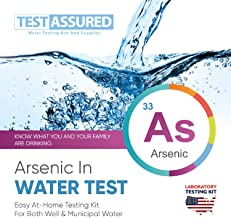 Test Assured Arsenic Water Test Kit - Easy at-Home Municipal and Water Test Kit - Mailed-in Laboratory Testing Kit for Carcinogenic Arsenic