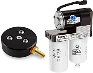 AirDog II-4G 100 GPH Fuel System compatible with 1998.5-2004 Dodge Cummins without In-Tank FP with Free Sump Kit (A6SPBD253)