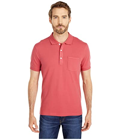 J.Crew Stretch Pique Polo Shirt (Old Red) Men